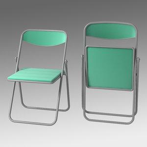 obj pipe chair
