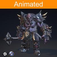 3d rpg troll model
