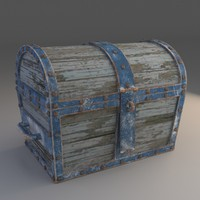 obj chest modeled
