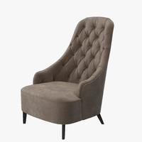 vanessa armchair 3d max