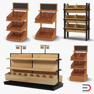 max bakery display shelves