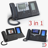3d cisco ip phones 6