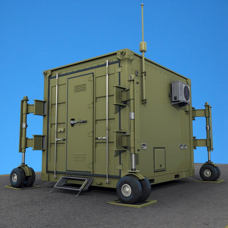 uav drone 10 feet container obj