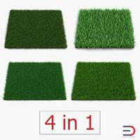 grass fields 3 3d obj