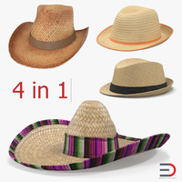 straw hats 3d 3ds