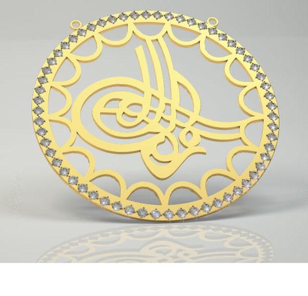jewelry cross stl 3d model