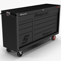 tool storage black obj