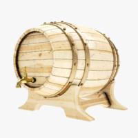 4k barrel 3d lwo