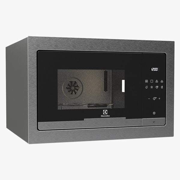 3d microwave electrolux model