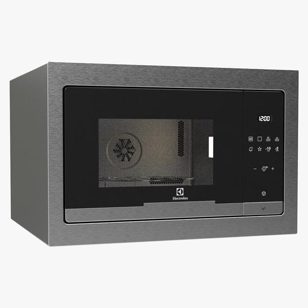 3d microwave electrolux model