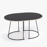 3d muuto airy small table model