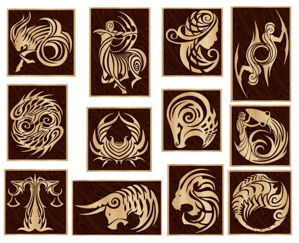 zodiac signs 3d 3ds