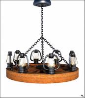 roof lamp 3d ma