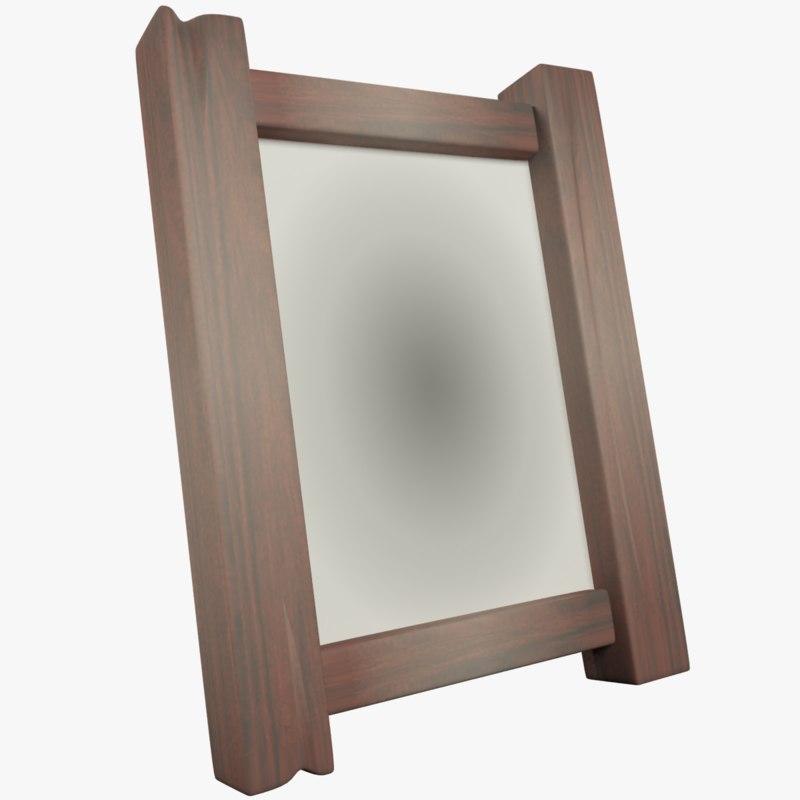 cartoon frame 3d model