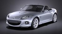 Mazda mx5 2015 VRAY
