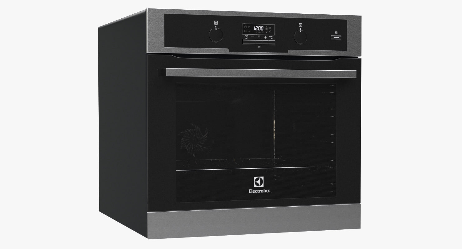 3d model oven electrolux