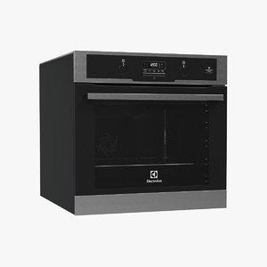 3d model oven electrolux