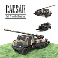 CAESAR Self-Propelled Howitzer [LOWPOLY]