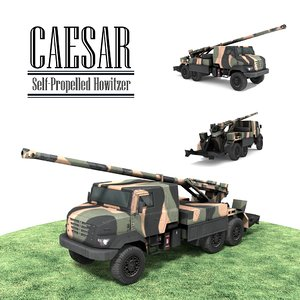 3d caesar self-propelled model