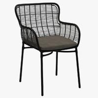 mudo maxime armchair rattan chair 3d max