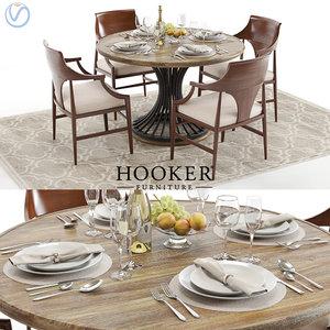 3d model hookers cinch table jens