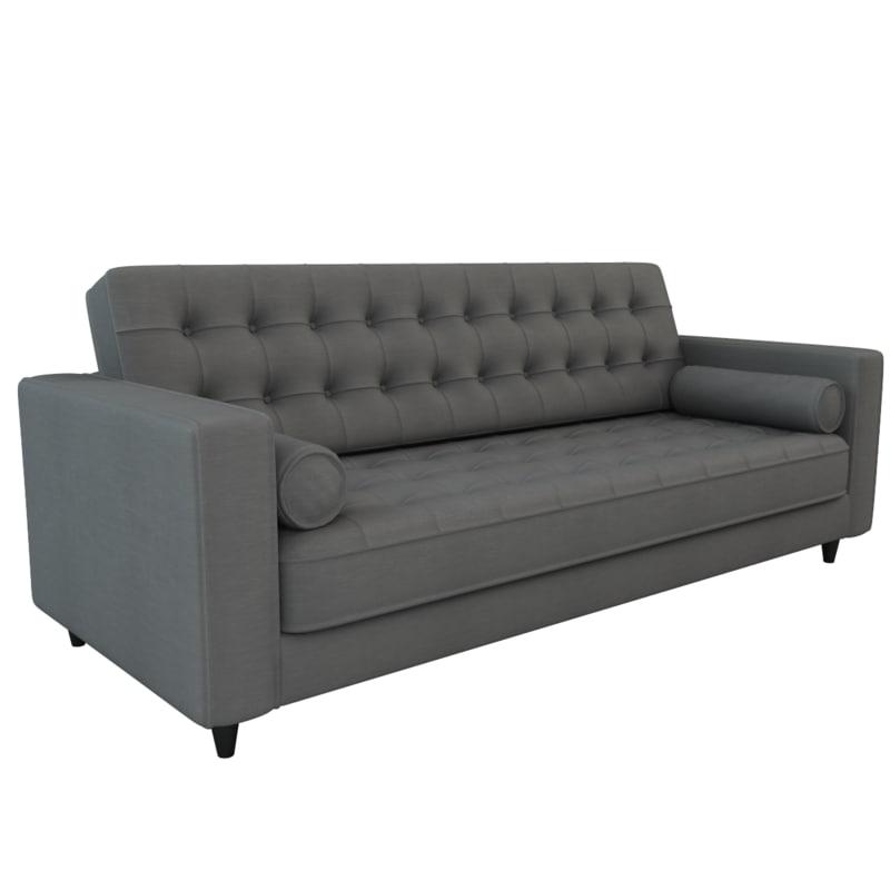s romano sofa 3d model