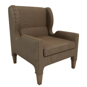 renzo chair 3d model