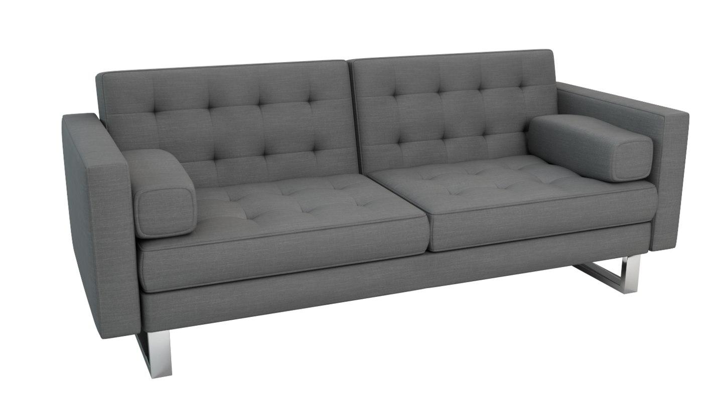 lysander sleeper sofa 3d 3ds