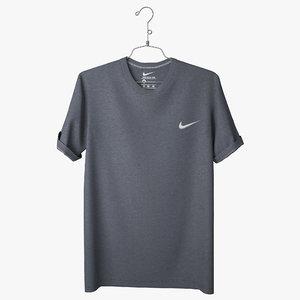 t shirt nike 3d model