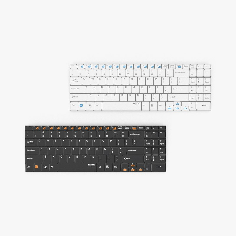 wireless keyboard rapoo max
