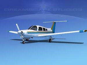 3d max propeller piper turbo arrow