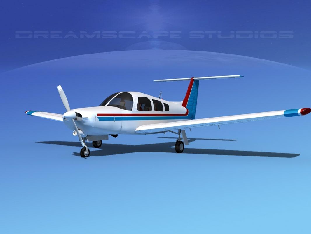 propeller piper turbo arrow 3d model