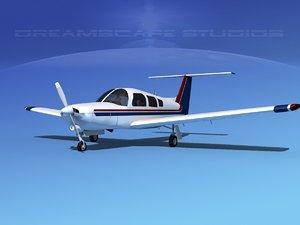 3d propeller piper turbo arrow model