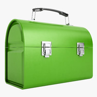 3d max metal lunch box