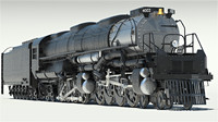 3d union pacific big boy