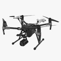 dji matrice 200 quadcopter 3d obj