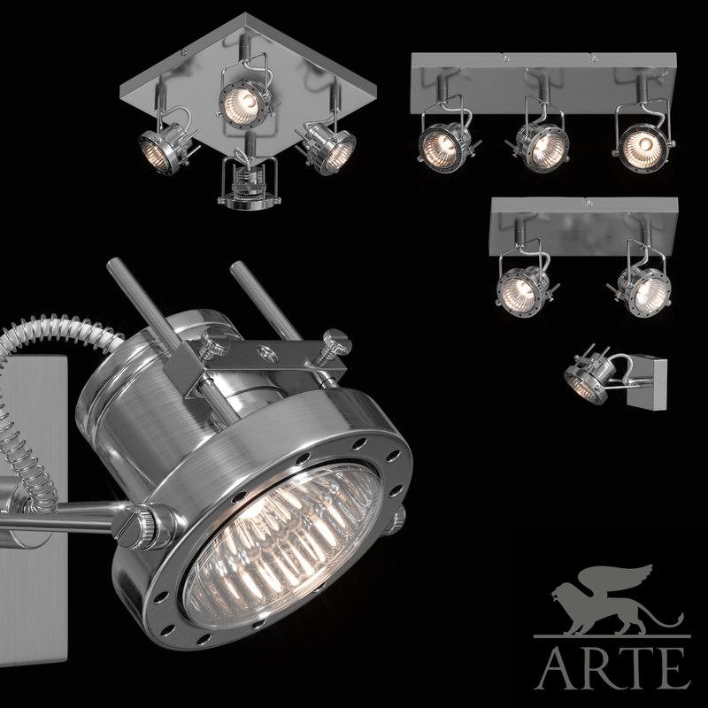 3d max arte lamp costruttore