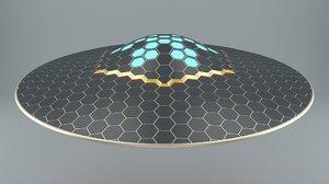 max ufo hexagon