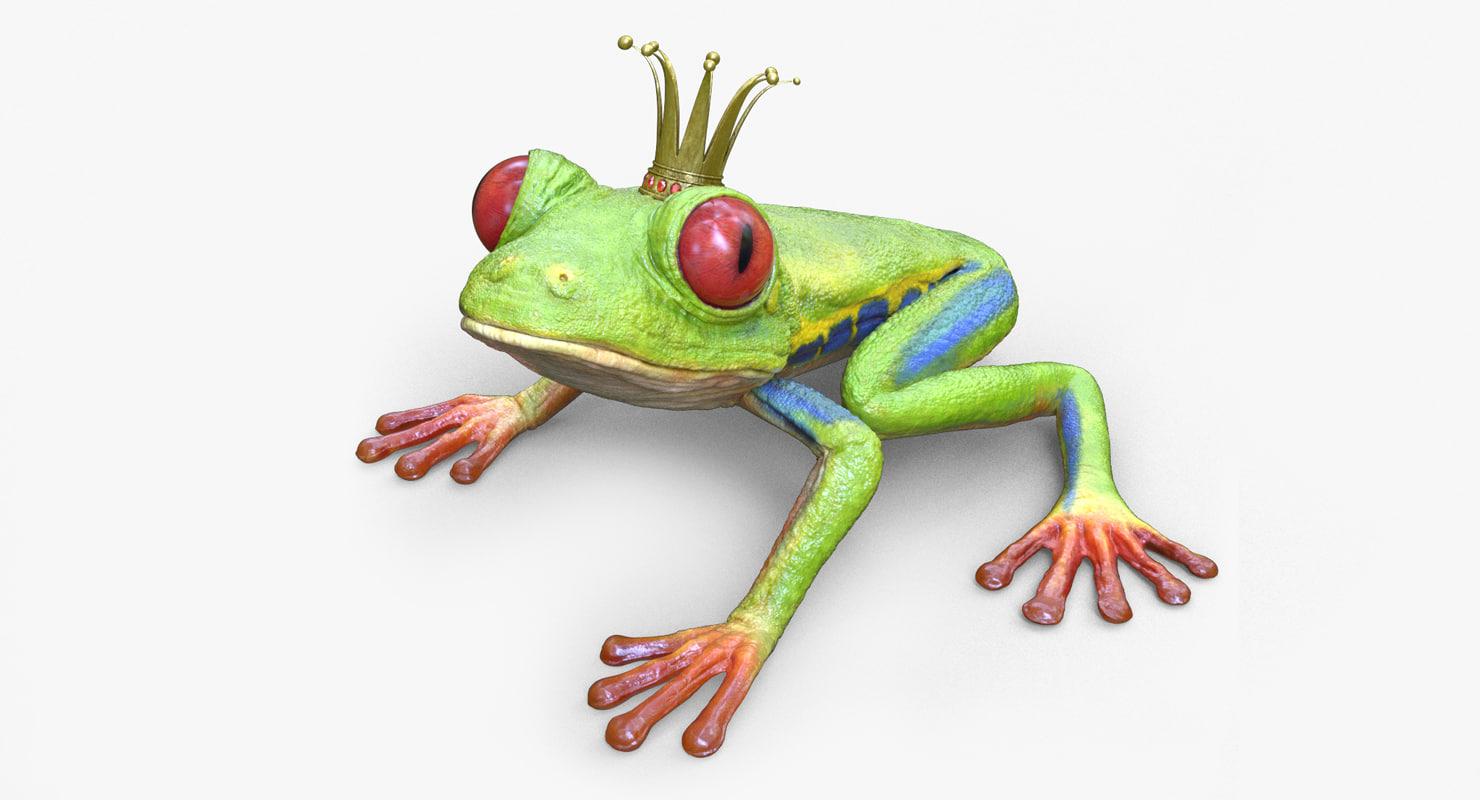 obj tree frog