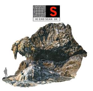 cave scan 8k 3d obj