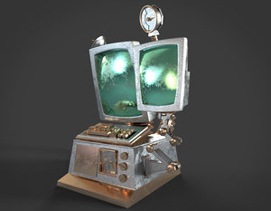 3d model comic computer labs