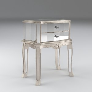 3d argente 2 drawer model