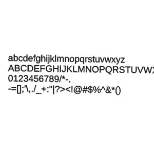 arimo font cg cad 3d 3ds