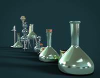 laboratory glasswar chemistry obj