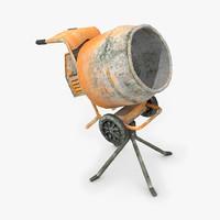 3d cement mixer