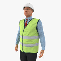 c4d port engineer standing pose