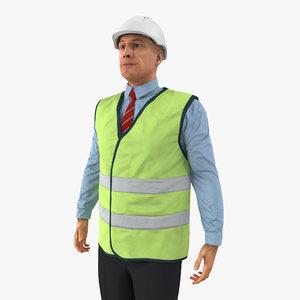 c4d port engineer standing pose