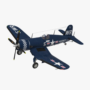 fighter f4u corsair marine corps 3ds