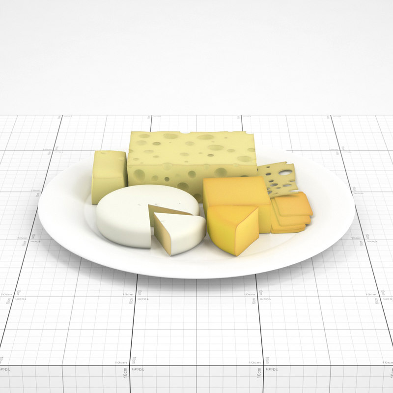 sliced cheese plate max