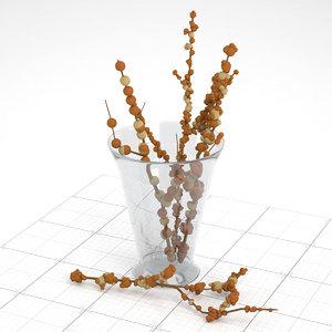 3ds vase decor